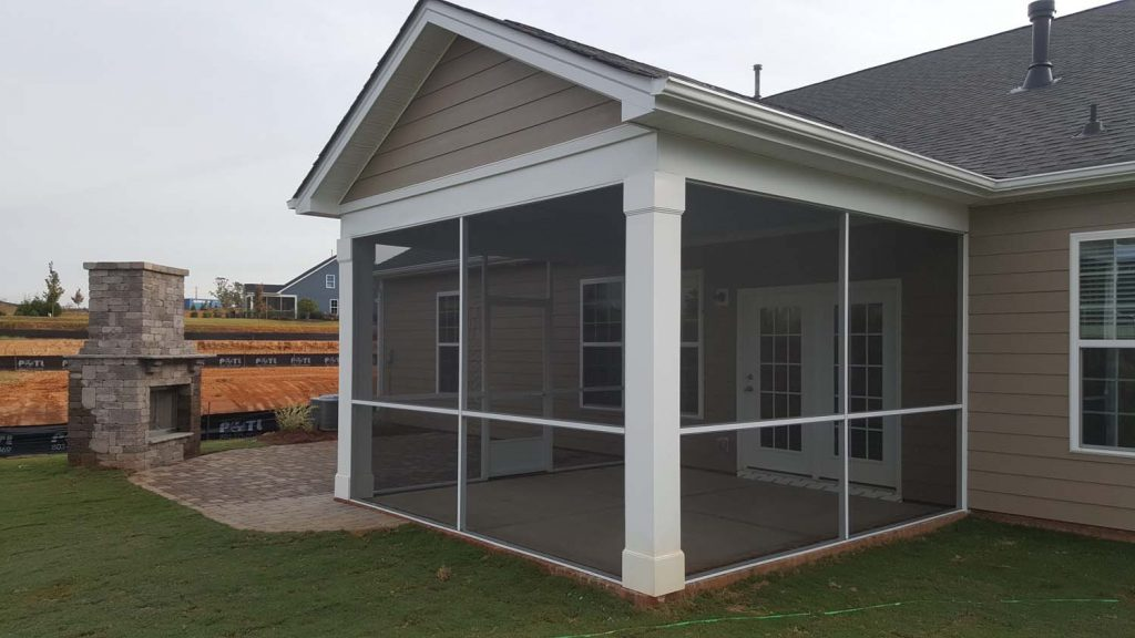 screened porch benefits